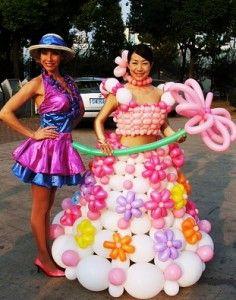 Baloon dress!!