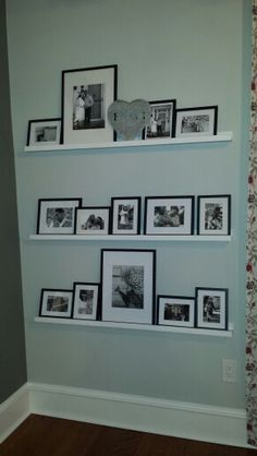 Black and white family pictures