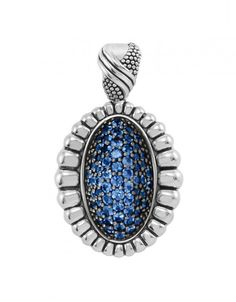 LAGOS Blue Sapphire Pendant from the Muse Collection. Available at TIVOL