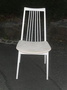 Stühle - Stuhl Weiß Shabby Holz Landhaus 4stück vorhanden - ein Designerstück von Die-Ideenschmiede bei DaWanda