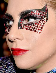 lady gaga super bowl makeup lady gaga super bowl superbowl makeup celebrity celebs celebritycloseup celebrities celeb