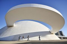 Oscar Niemeyer: The National Museum in Brasilia