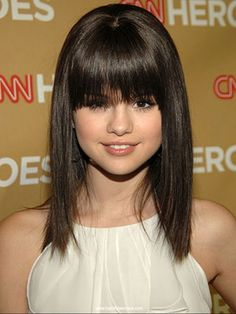Selena Gomez sexy hairstyle. Check out more teenage and other cool hairstyles on www.hairstylescraze.com