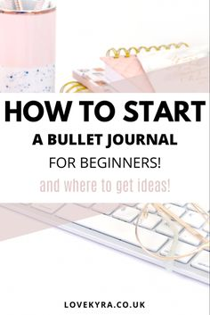 Starting a bullet journal is amazing for productivity and organisation. My super easy guide on starting a bullet journal will help you effortlessly organise your life and keep you entertained in lockdown. Not only do I help beginners with this guide but I provide ideas on where to get ideas and inspiration. #bulletjournal #organisation #journaling Keeping A Bullet Journal, Bullet Journal For Beginners, Bullet Journal How To Start A, Fancy Pens, Simple Doodles, Mood Tracker, Organize Your Life, My Journal, Bullet Journal Inspiration
