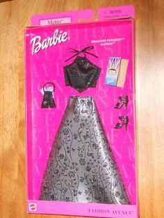 "That's cute. Wow. : Barbie Fashion Avenue ""Metro"" Broadway Premiere Fashion 52820-0980 
