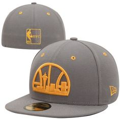 d3cc848a330c0 New Era Seattle SuperSonics Storm Gray 59FIFTY Fitted Hat - Gray