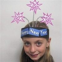 New Years Party Hat Craft