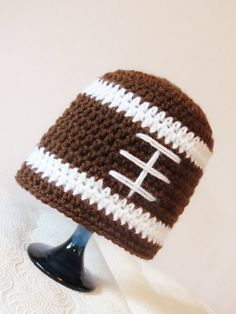 Baby Boy Football Hat 0-3 months