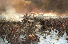 The Battle of Eylau or Battle of Preussisch-Eylau, 7/8 February 1807, was a bloody and inconclusive battle between Napoléon's Grande Armée and a Russian Empire army under Levin August, Count von Bennigsen near the town of Preußisch Eylau in East Prussia.