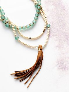 Presley Mega Rosary Necklace from Free People!