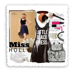 """MISS HOLLY"" by ainzme ❤ liked on Polyvore"
