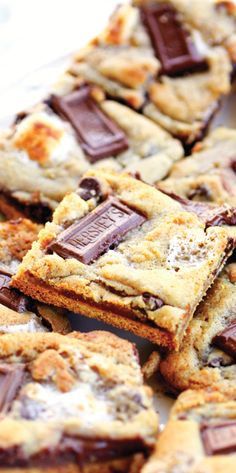 S'mores Cookies Recipe - Made these for a BBQ last weekend. They disappeared so fast! Can you say YUMMY??? And so easy!