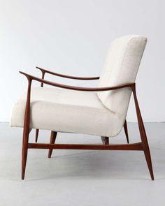 Jorge Zalszupin; Caviona Wood Sofa for L'Atelier, 1959.