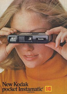 Girls With Cameras, Old Cameras, Vintage Cameras, Vintage Ads, Vintage Posters, Old Advertisements, Retro Advertising, Retro Ads, Classic Camera
