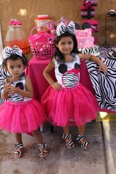 CARLA & GISELLA MINNIE MOUSE PARTY  Birthday - Minnie Mouse