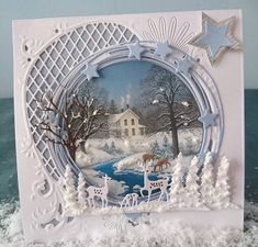 Christmas Cards 2018, Christmas Tag, Xmas Cards, Pretty Cards, Cute Cards, Crafters Companion Cards, 3d Cards, Marianne Design, Sympathy Cards