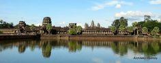 Miasto o powierzchni Los Angeles, ale zbudowane 1000 lat wcześniej, czyli jedno z najbardziej znanych dziedzictw ludzkości - Angkor.
