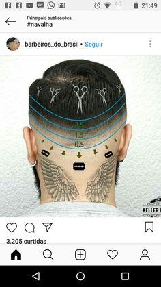 Hair Cutting Videos, Hair Cutting Techniques, Shaved Side Hairstyles, Hipster Hairstyles, Fade Haircut Styles, Hair And Beard Styles, Barber Haircuts, Haircuts For Men, Cut My Hair