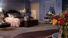 DONE SCENE Blair Waldorf room. Love it.