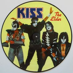Kiss - (Music From) The Elder: buy LP, Album, Ltd, Pic, Unofficial at Discogs