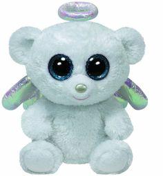 Ty Halo the Angel Bear Beanie Boos Stuffed Plush Toy