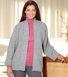 Loom Knit Kimono Jacket