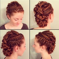 Top 60 All the Rage Looks with Long Box Braids - Hairstyles Trends Historical Hairstyles, Medieval Hairstyles, Pretty Hairstyles, Braided Hairstyles, Braided Updo, Roman Hairstyles, Hairstyle Ideas, Curly Hair Styles, Natural Hair Styles