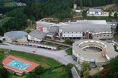Fabrica de Cerámica de Sargadelos en Cervo (Galicia).