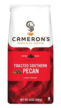 Cameron's Toasted Ground Coffee, Southern Pecan, 12 Ounce...