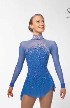 Brad Griffies Figure Skating Dresses and Outfits Figure Skating Competition Dresses, Figure Skating Outfits, Figure Skating Costumes, Figure Skating Dresses, Dance Outfits, Dance Dresses, New Blue, Dance Costumes, Dance Wear