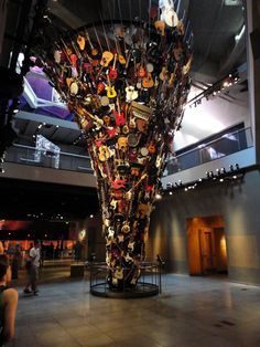 Check out the Experience Music Project in Seattle!
