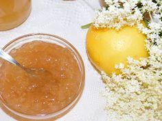 Gerdi süti: Bodzavirág lekvár Izu, Elderflower, Cantaloupe, Pudding, Fruit, Desserts, Food, Kitchen, Home Made