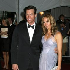 Harry Connick Jr. With his gorgeous wife Jill Goodacre, former Victoria's Secret model