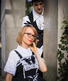 Modèle : Miki (https://www.facebook.com/mado.tenshi) et Valentin (https://www.facebook.com/tsuguto775)  Petit shooting improvisé sur le vif à Harajuku 2016. Pic by @vinceinpix  #photography #photo #art #anime #manga #comics #geek #gaming #cosplay #コスプレ #amazing #smile #girl #pretty #swag #makeup #Japan #Paris #France #instagood #photooftheday #follow4follow #like4like #followme  #blackandwhitephotography #blackandwhite #bw #harajuku