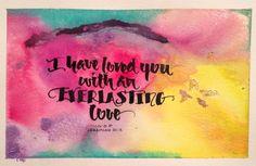 #saltlightcalligraphy #calligraphy #valentine see more at https://www.facebook.com/salt.lightcalligraphy