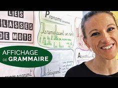 JE REALISE UNE AFFICHE DE GRAMMAIRE - Classe de CE1/CE2 [VLOG 34] - YouTube