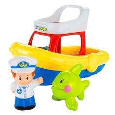 Little People® Floaty Boat   BrandsLittlePeople   Fisher Price