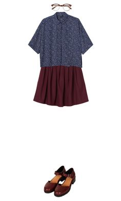 """:)"" by cnline ❤ liked on Polyvore featuring Monki and Topshop"