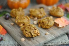 Pumpkin Spice Butterscotch Cookies | This N That with Olivia