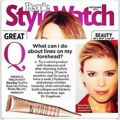 Mary Kay TimeWise Repair Wrinkle Filler featured in People StyleWatch http://www.marykay.com/lisahabbe