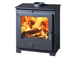 IStove Defra Certified 5kw Contemporary Wood Burning Multi Fuel Stove