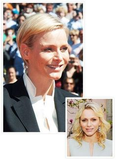 Princess Charlene's dramatic new haircut