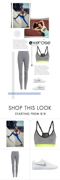 """New year's resolutions - number 2"" by heloisa90 ❤ liked on Polyvore featuring Nina.B.Roze, NIKE, newyear and NewYearsResolutions"