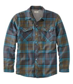 Men's Overland Performance Flannel Shirt, Fleece Lined Mens Flannel, Flannel Shirt, Casual Button Down Shirts, Casual Shirts, Mens Fashion, Fashion Outfits, Baby Cats, Polo Ralph Lauren, Men Casual