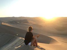Sand Dunes, Huacachina, Ica, Peru