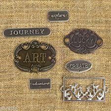Prima Marketing Plate & Label Mechanicals Metal Vintage Trinkets 961121