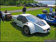The FireAero cycle car. A kit car produced in California from 1983 to 1989.