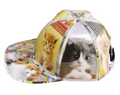 Hat for cat lovers Cat Lover Gifts, Cat Gifts, Cat Lovers, Kitten Images, Funny Hats, Stylish Hats, Cool Hats, Hat Making, Hats For Women