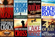 Alex Cross and The Womens Murder Club are my favorite in his different series but you really can't go wrong with any of his books.