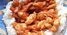 Mennyei Édes-savanyú mártásos csirke, rizzsel recept! Igazán finom, otthon is elkészíthetünk egy kis kínai kaját. Gyorsan finomat.